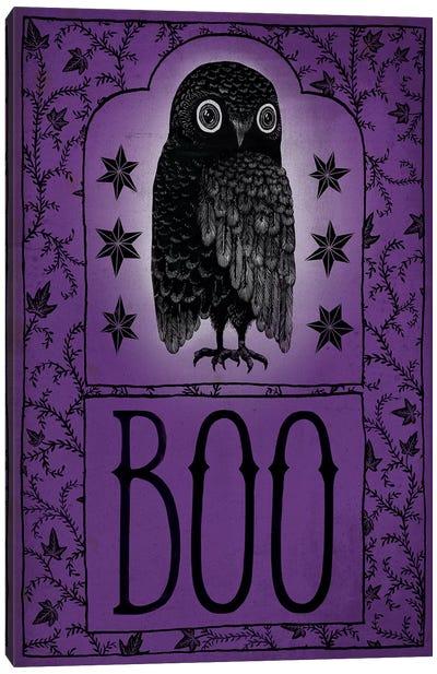 Boo Canvas Art Print