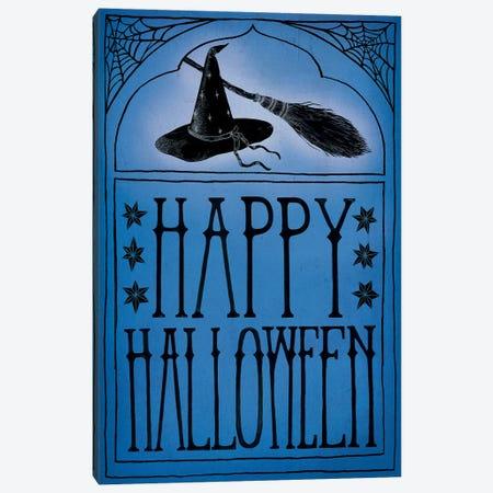 Happy Halloween Canvas Print #WAC6285} by Sara Zieve Miller Canvas Art Print