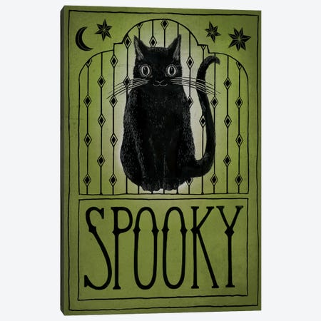 Spooky Canvas Print #WAC6286} by Sara Zieve Miller Art Print
