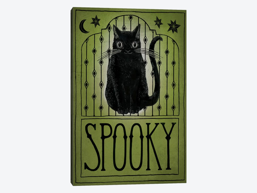 Spooky by Sara Zieve Miller 1-piece Canvas Print