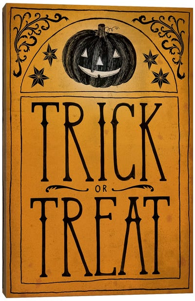 Trick Or Treat Canvas Art Print