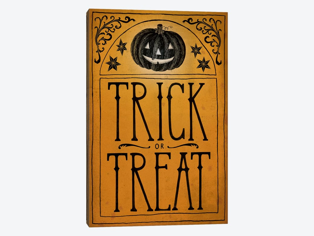 Trick Or Treat by Sara Zieve Miller 1-piece Canvas Artwork