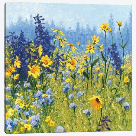 Joyful In July III Canvas Print #WAC6288} by Shirley Novak Canvas Wall Art