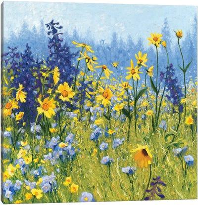 Joyful In July III Canvas Art Print