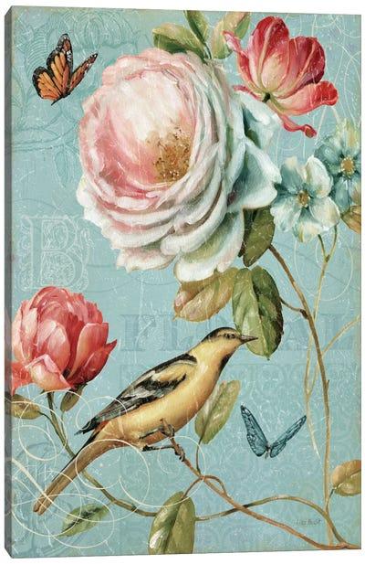 Spring Romance II Canvas Print #WAC628