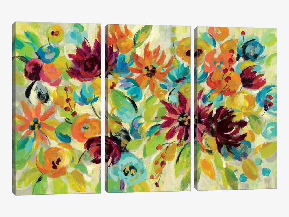 Autumn Joy I by Silvia Vassileva 3-piece Canvas Art