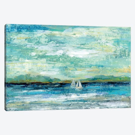 Calm Lake Canvas Print #WAC6293} by Silvia Vassileva Art Print