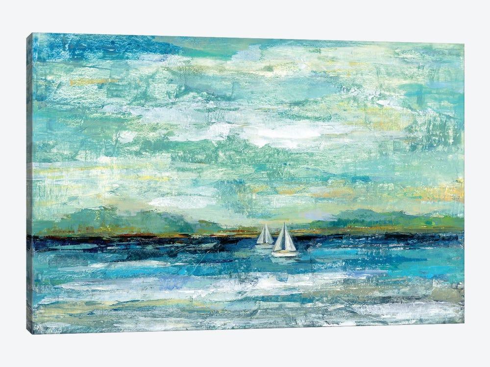 Calm Lake by Silvia Vassileva 1-piece Canvas Print