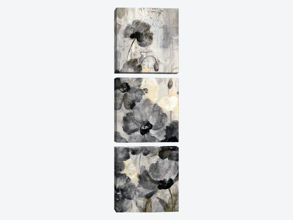Crystal Raindrops Panel II by Silvia Vassileva 3-piece Canvas Art