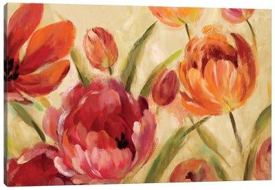 Expressive Tulips Canvas Print #WAC6300