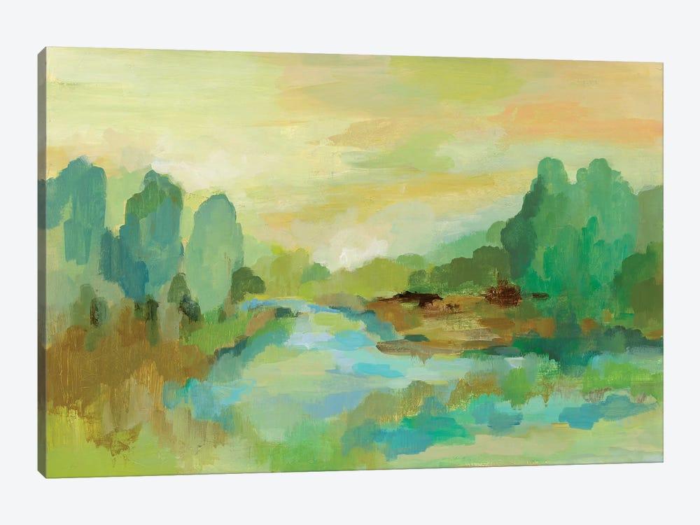 Jade Forest by Silvia Vassileva 1-piece Art Print