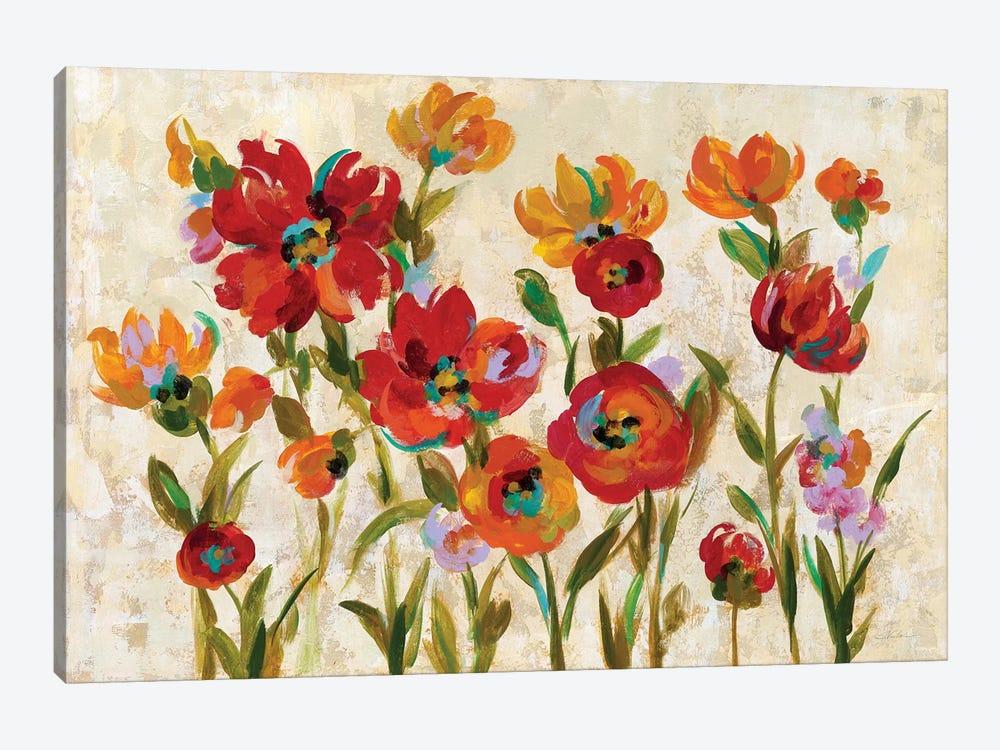 July In The Garden I by Silvia Vassileva 1-piece Canvas Wall Art