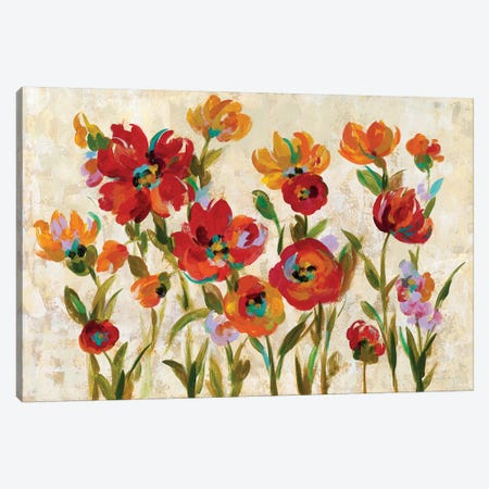 July In The Garden I Canvas Print #WAC6304} by Silvia Vassileva Canvas Art