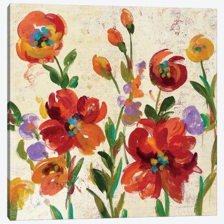July In The Garden II Canvas Print #WAC6305} by Silvia Vassileva Canvas Wall Art