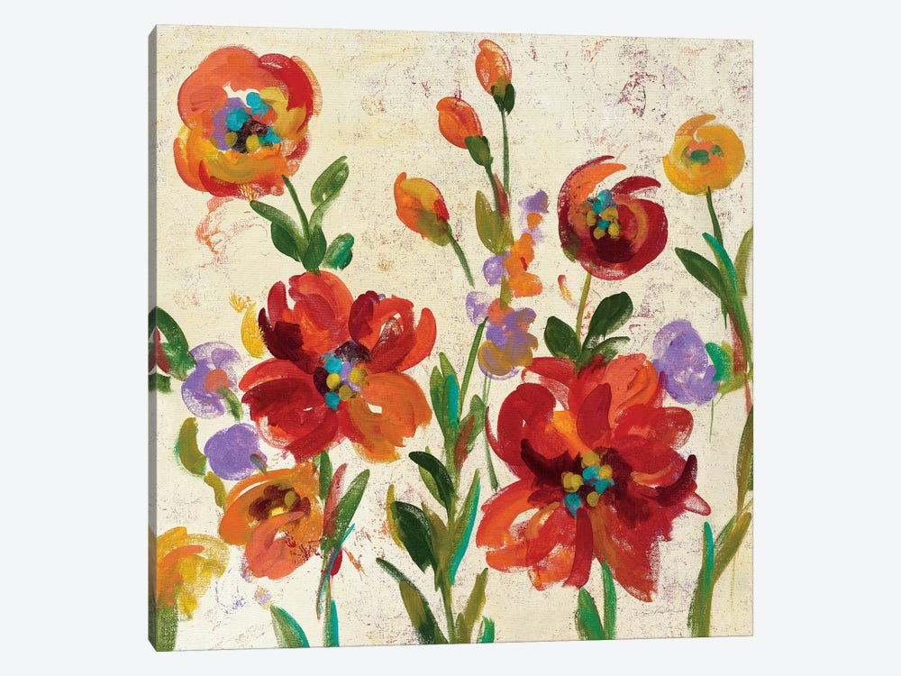 July In The Garden II by Silvia Vassileva 1-piece Canvas Print