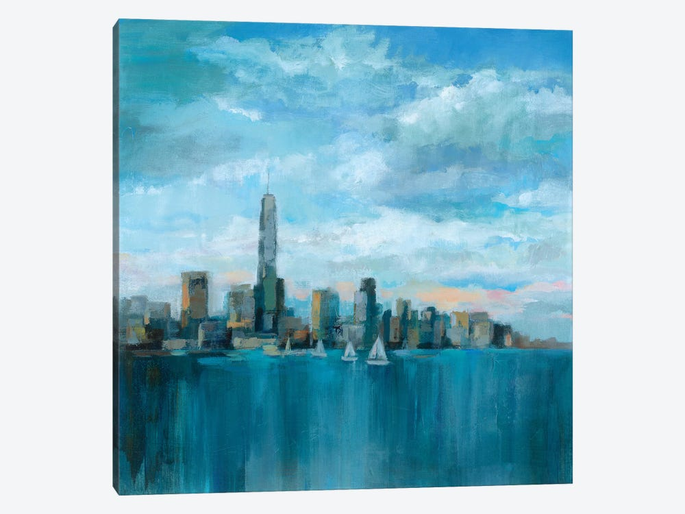 Manhattan Tower Of Hope by Silvia Vassileva 1-piece Canvas Wall Art