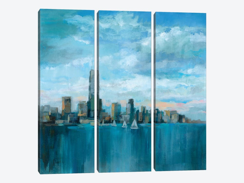 Manhattan Tower Of Hope by Silvia Vassileva 3-piece Canvas Art