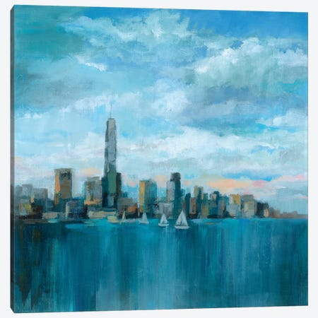 Manhattan Tower Of Hope 3-Piece Canvas #WAC6306} by Silvia Vassileva Canvas Art
