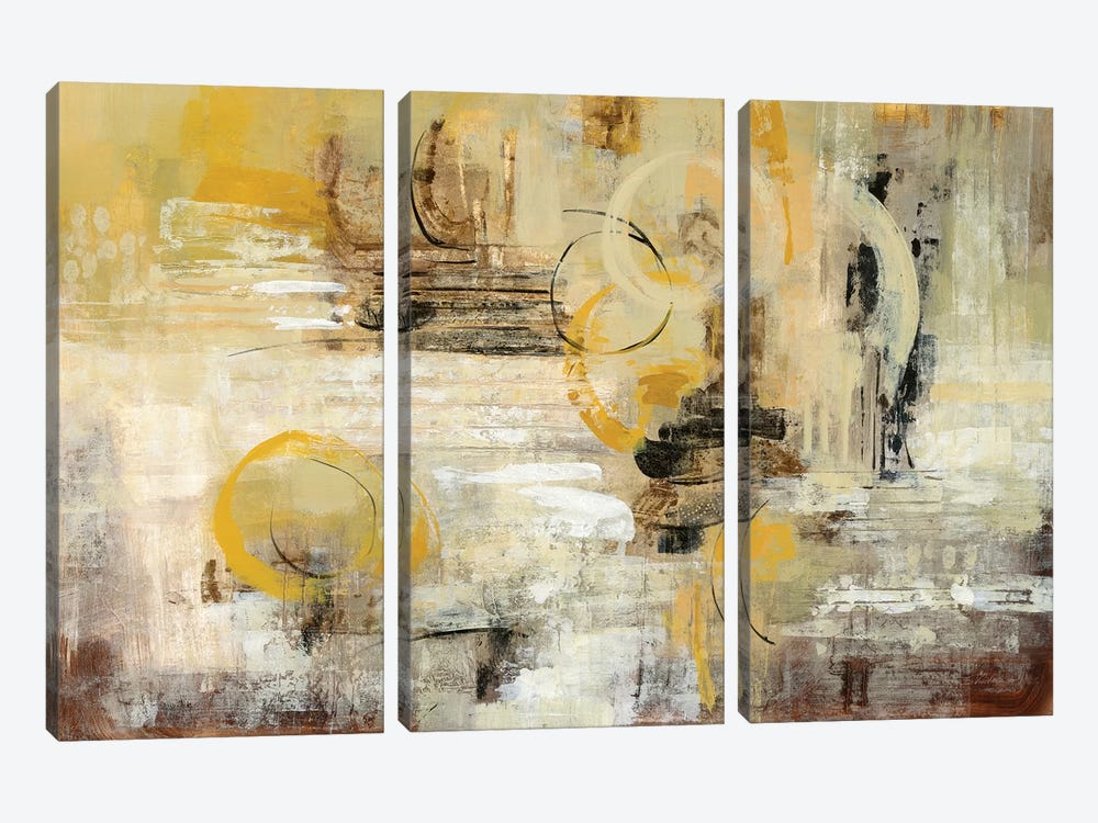 Soft Glow by Silvia Vassileva 3-piece Canvas Artwork