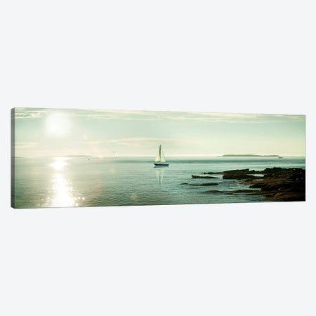 Evening Sail Canvas Print #WAC6316} by Sue Schlabach Canvas Art Print