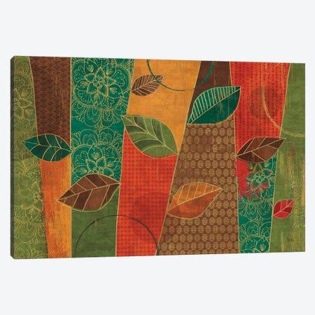 Bohemian Leaves I Canvas Print #WAC6318} by Veronique Charron Canvas Artwork