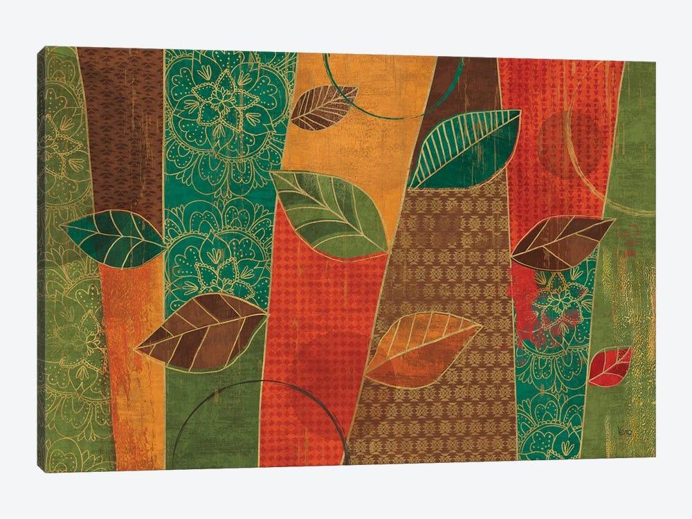 Bohemian Leaves I by Veronique Charron 1-piece Canvas Art Print
