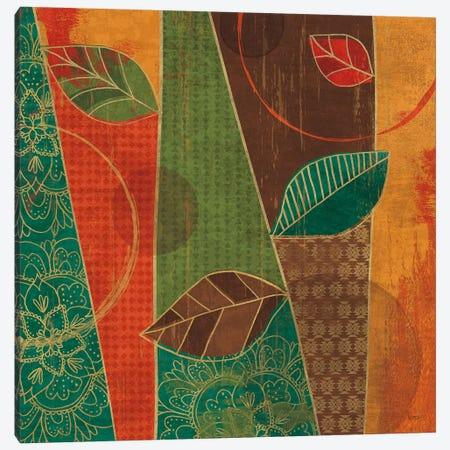 Bohemian Leaves III Canvas Print #WAC6320} by Veronique Charron Art Print