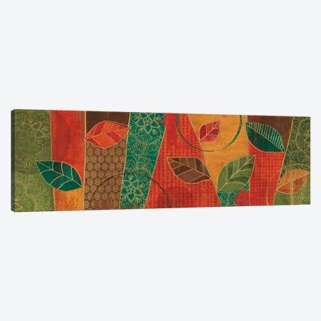 Bohemian Leaves IV Canvas Print #WAC6321} by Veronique Charron Art Print