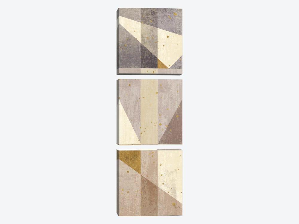 Framework II by Veronique Charron 3-piece Canvas Art Print