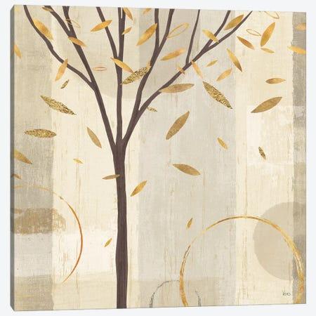 Golden Watercolor Forest IV Canvas Print #WAC6328} by Veronique Charron Canvas Art Print
