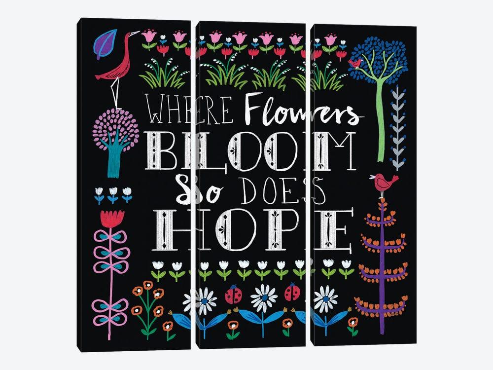 Bright Folklore Inspiration II by Wild Apple Portfolio 3-piece Canvas Print