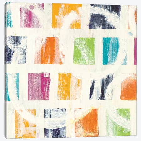 Color Block II Canvas Print #WAC6335} by Wild Apple Portfolio Canvas Print