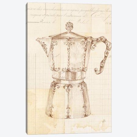 Authentic Coffee III Canvas Print #WAC6340} by Daphne Brissonnet Canvas Print