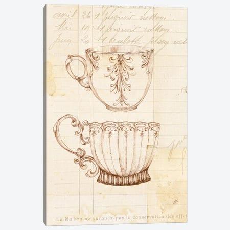 Authentic Coffee IV Canvas Print #WAC6341} by Daphne Brissonnet Canvas Art Print