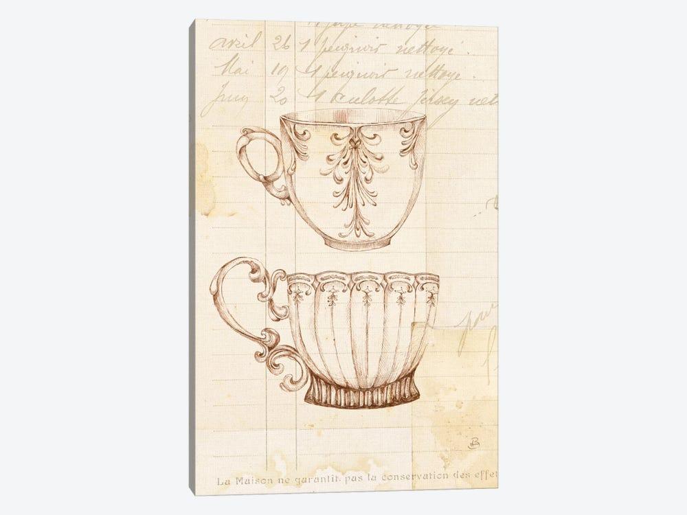 Authentic Coffee IV by Daphne Brissonnet 1-piece Canvas Art Print