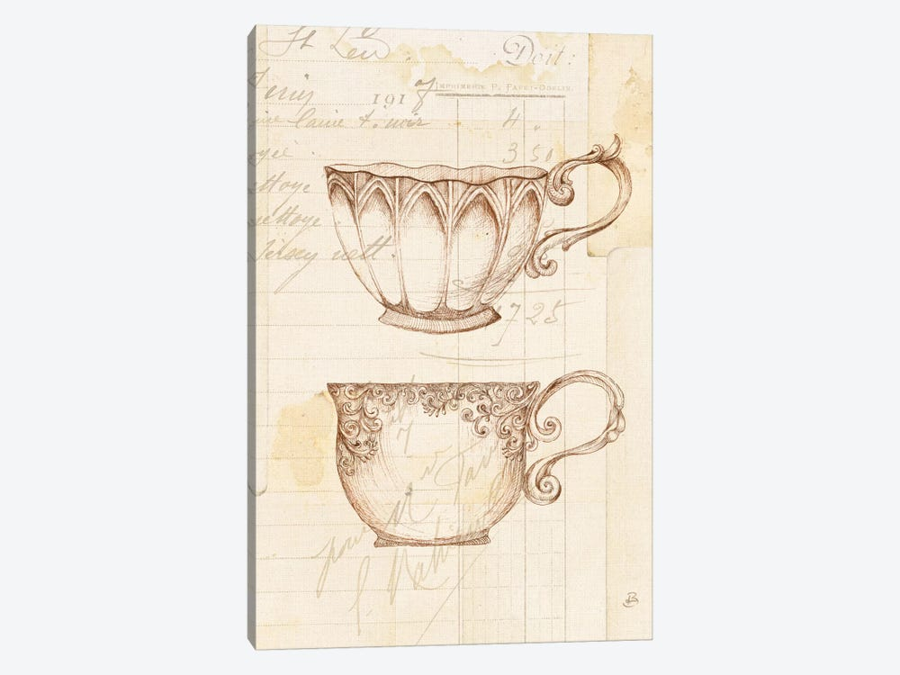 Authentic Coffee V by Daphne Brissonnet 1-piece Canvas Wall Art