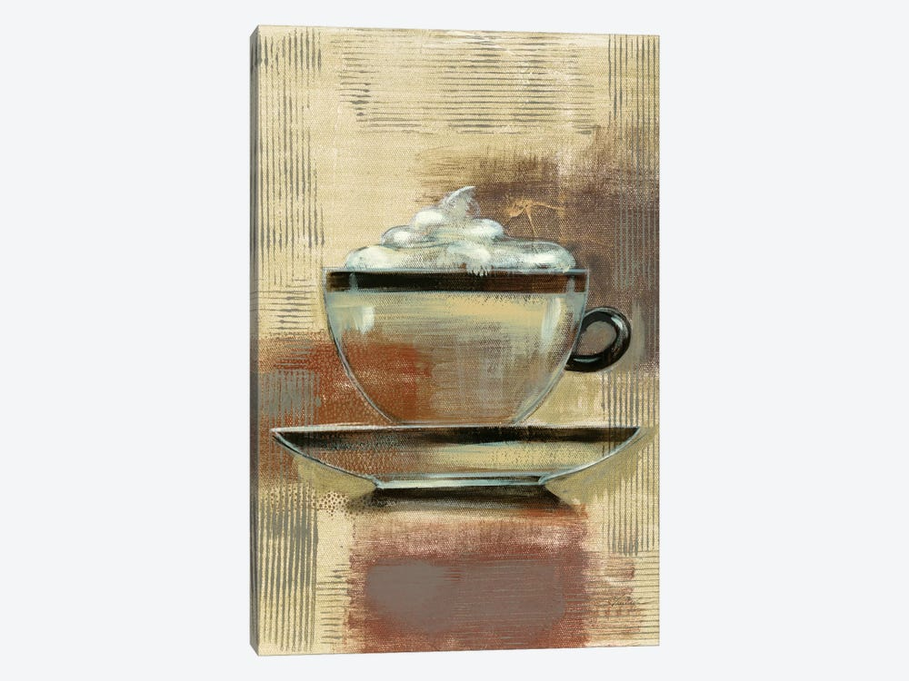 Café Classico II by Silvia Vassileva 1-piece Canvas Print