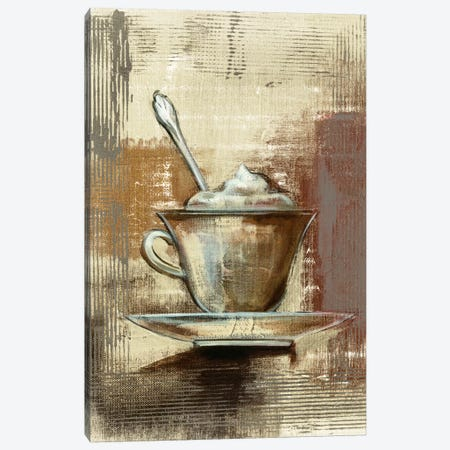 Café Classico III Canvas Print #WAC6350} by Silvia Vassileva Canvas Art