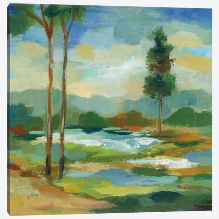 Early Spring Landscape I Canvas Print #WAC6352} by Silvia Vassileva Canvas Artwork