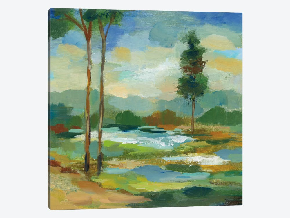 Early Spring Landscape I by Silvia Vassileva 1-piece Canvas Print