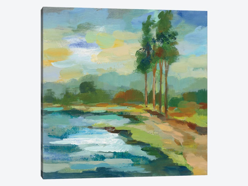 Early Spring Landscape II by Silvia Vassileva 1-piece Canvas Wall Art