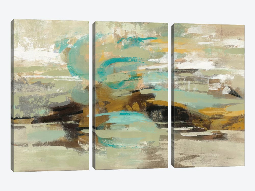 Hidden Lagoon by Silvia Vassileva 3-piece Canvas Artwork
