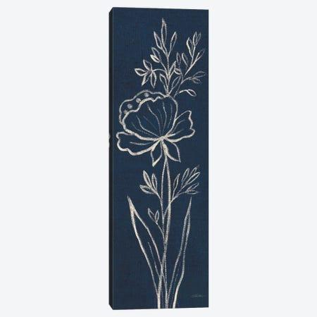 Indigo Floral III Canvas Print #WAC6369} by Silvia Vassileva Canvas Print