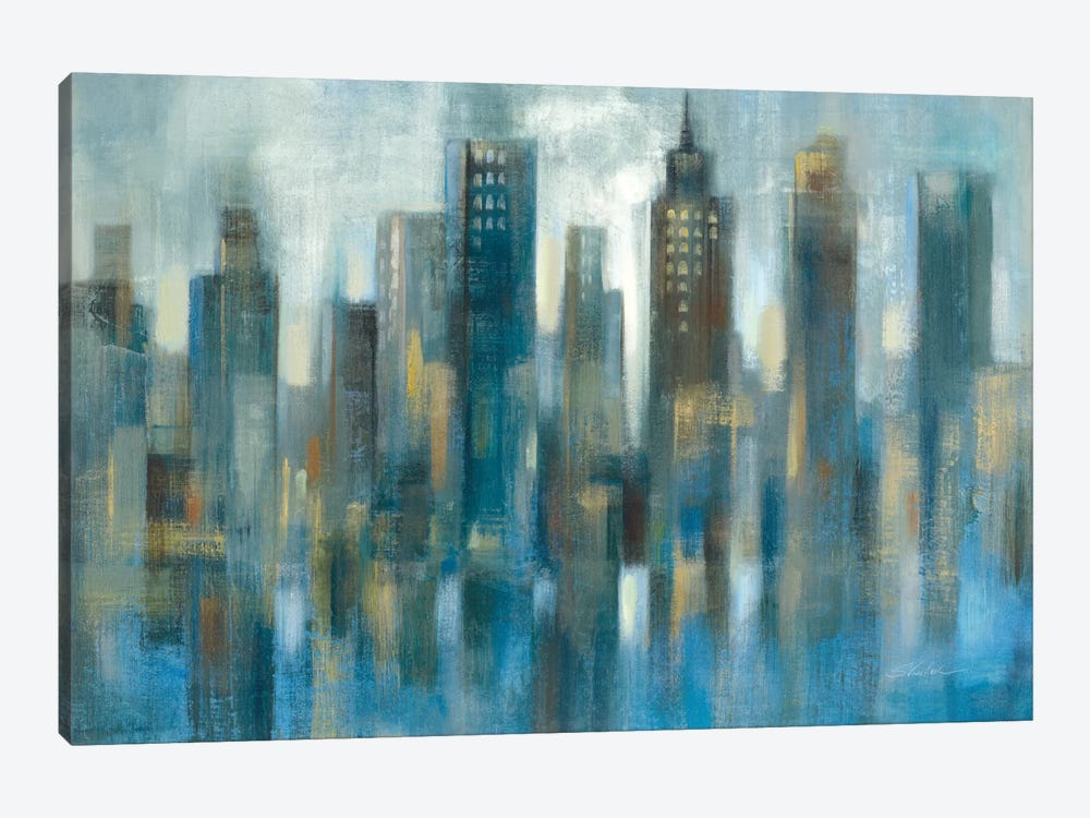 Light Rhythmic Reflection by Silvia Vassileva 1-piece Art Print