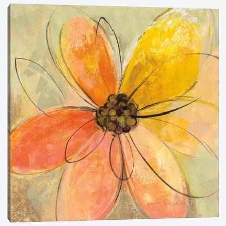 Neon Floral II Canvas Print #WAC6372} by Silvia Vassileva Canvas Artwork