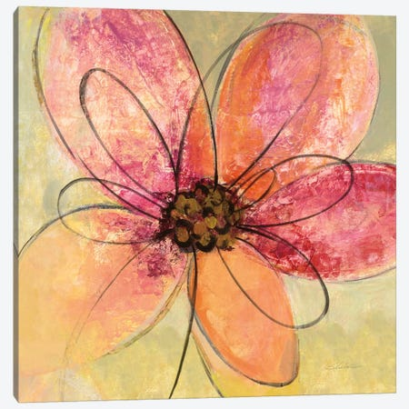 Neon Floral III Canvas Print #WAC6373} by Silvia Vassileva Canvas Wall Art