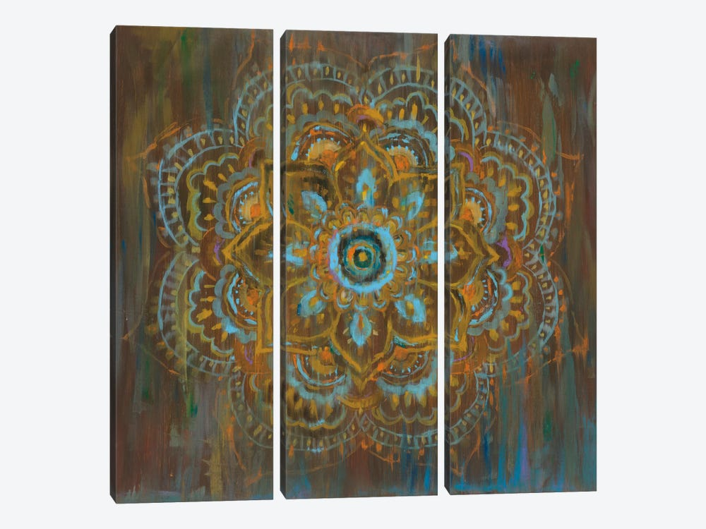 Bombay Bohemian by Danhui Nai 3-piece Canvas Artwork
