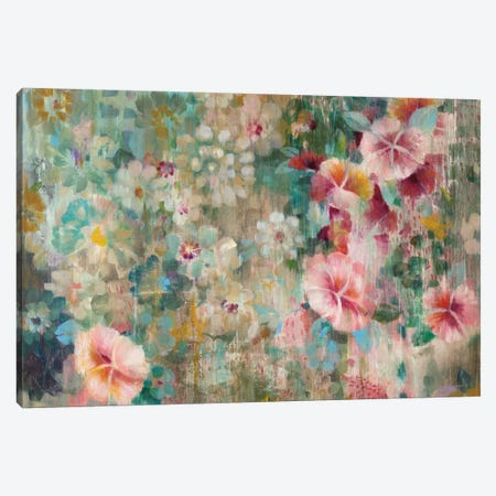 Flower Shower Canvas Print #WAC6376} by Danhui Nai Canvas Print