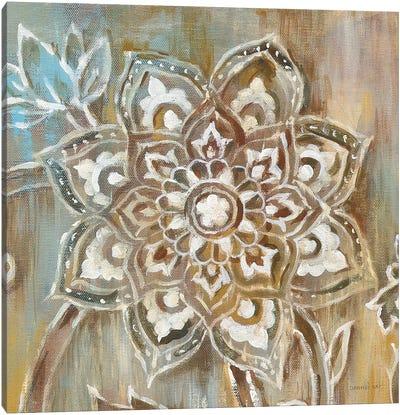 Henna II Canvas Print #WAC6377