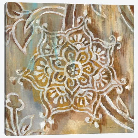 Henna III Canvas Print #WAC6378} by Danhui Nai Canvas Wall Art